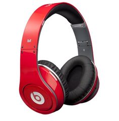 Beats by Dr. Dre Studio Red Over Ear Headphone from Monster $299.00