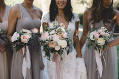 Beautiful #BERTA bride Cannelle featured on The Lane <3