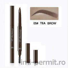 Creion sprancene Drawing culoare Tea Brown Brows, Eyeliner, Tea, Drawings, Makeup, Beauty, High Tea, Sketches, Maquillaje