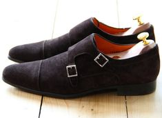 Double Monk Straps by Santoni