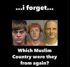 WHITE AMERICAN TERRORIST!