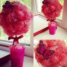 Топиарий «Розовый Фламинго» от 600 рублей!