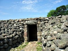 The King's Grave, Sweden. Constructed during the Nordic Bronze Age, this is an 'unusually grand' double burial tomb from about 3000 years ago.