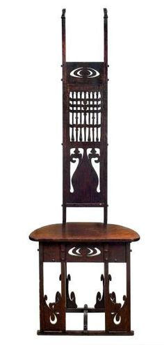 Charles rohlfs on pinterest furniture makers american for Arts and crafts furniture makers