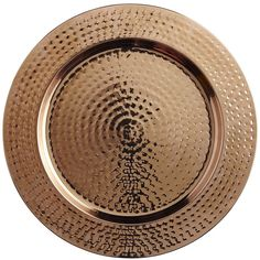 Copper Hammered Charger Plate | Pier 1 Imports