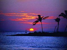 beach sunsets heaven on earth
