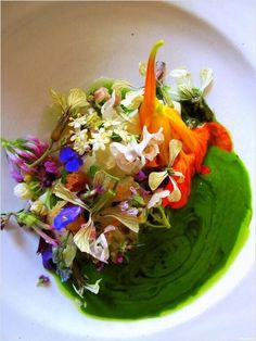 One of the colorful dishes of Copenhagen