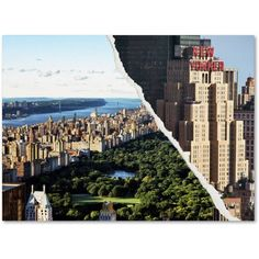 Trademark Fine Art Central Park View Canvas Art by Philippe Hugonnard, Size: 14 x 19, Multicolor