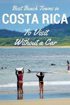 Wanna hit the beach but don't want to rent a car? Check out our guide to the best places to visit in Costa Rica without a car.