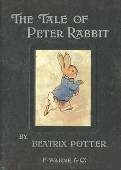 Beatrix Potter - The Tale of Peter Rabbit - First edition cover, October 1902