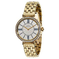 Juicy Couture Womens 1901127 J Couture GoldPlated Stainless Steel Bracelet Watch -- You can find more details by visiting the image link.