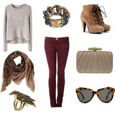 So cute for fall, but maybe a different scarf