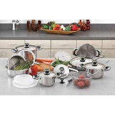 22pc Cookware Set