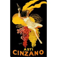 Showcase your love for Italian wine or vintage-style art with this elegant piece of over-sized canvas art. The piece features vibrant colors depicting grapes of various colors along with a woman holding wine, creating a beautiful and classic look.