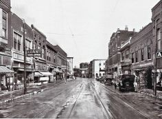 "Beale Street - 1920 - Beale street was named after a forgotten hero of the Mexican-American War.  Indeed, the original name was Beal Avenue - without an ""e"".  Over the years, in legend and in song, an ""e"" was added.  Although everyone referred to it as Beale Street,  it wasn't until the late 1950's, with a ""push"" from entertainer Danny Thomas, that the ""Avenue"" was officially changed to ""Street."""