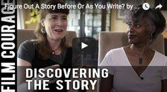 Figure Out A Story Before Or As You Write? by Barrington Smith-Seetachitt & Janice Rhoshalle Littlejohn via FilmCourage.com.   #writing #screenwriting #script