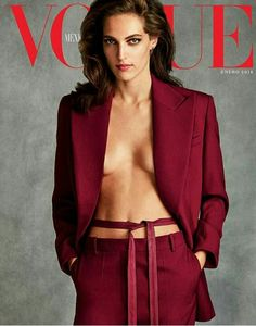 Othilia Simon on the cover of Vogue Mexico January 2018