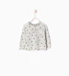 Bild 1 von Shirt mit Trompeten von Zara