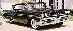 1950s Cars - Mercury
