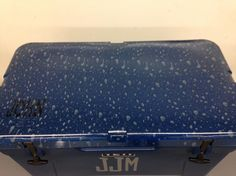 Hydro dipped Yeti Cooler