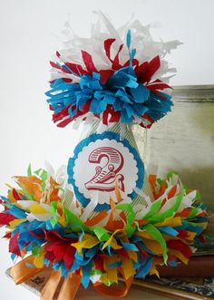Vintage Circus,Carnival Hat Birthday Party Hat Collection, First Birthday, Photo Prop, Party Package