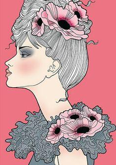 by:: Natalie Ferstendik [pink flower]