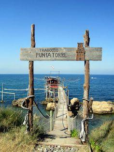 Enchanting Italy: Trabocco Punta Torre, Abruzzo Coast