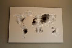 Map art project - Album on Imgur