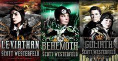 leviathan trilogy by scott westerfeld