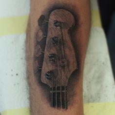 bass tattoo
