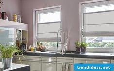 faltrollo selber n hen fenster deko sichtschutz wohnzimmer raffrollos kitchen livingroom. Black Bedroom Furniture Sets. Home Design Ideas