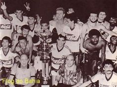 Comemoração do Tricampeonato Baiano em 1988