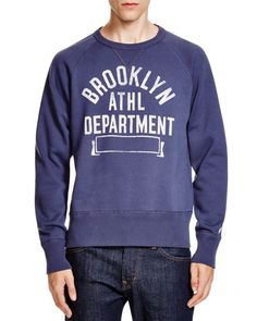 Todd Snyder + Champion Brooklyn Athletic Sweatshirt - Bloomingdale's Exclusive | Frank Ozmun Graphic Design