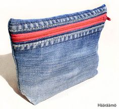 Denim toiletry bags / pencil cases FREE TUTORIAL with pictures -  Ompeluohje…