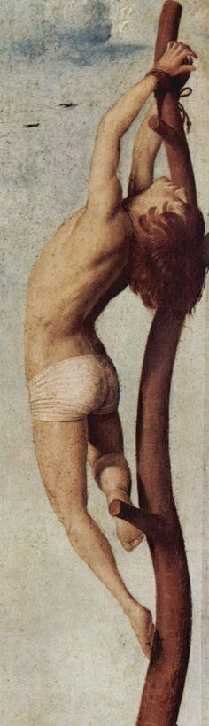 Antonello da Messina: Crucifixion (detail), 1455.