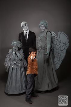 Doctor Who family cosplay at Salt Lake Comic Con 2014