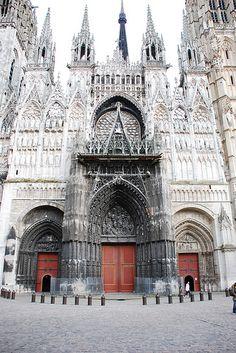 France. Notre-Dame de Rouen