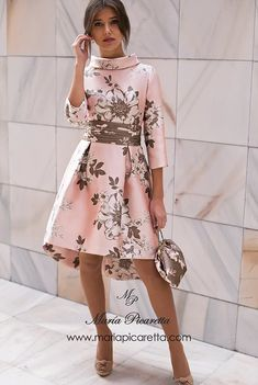 Moda vestidos fiesta cortos New Ideas Lovely Dresses, Elegant Dresses, Beautiful Outfits, The Dress, Dress Skirt, Jw Mode, Outfit Chic, Dress Outfits, Fashion Dresses