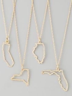 home is where the heart is... I would totally rock a Kansas necklace