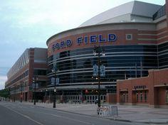 Ford Field Building | Ford Field, Detroit, MI
