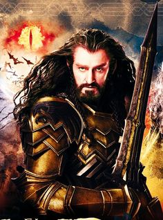 Thorin ready for battle