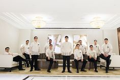 The Rose Details Add a Classic and Elegant Touch to this Wedding! Barong Tagalog Wedding, Barong Wedding, Church Wedding, Wedding Blog, Dream Wedding, Wedding Ideas, Wedding Suits, Wedding Gowns, Filipino Wedding
