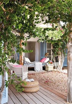 Mediterranean living; An island oasis showcases charming details on Formentera, Spain