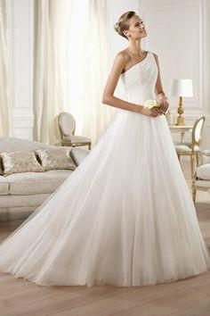 Vestidos de novia para todas las figuras
