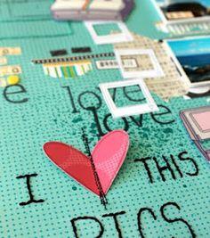 Cute Scrapbook Ideas :)
