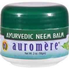 Auromere Ayurvedic Neem Balm - 2 oz