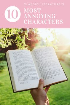 There are some characters in classic literature that just bug the heck out of me. Join me for some short rants! #classics #classicbooks #books #booklist #list #characters