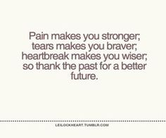 Inspiration over pain~ At times you just have to be thankful...