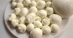 Homemade Mozzarella I Mozzarella, Kefir, Garlic, Deserts, Paleo, Yummy Food, Homemade, Vegetables, Cooking