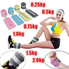 compare prices 1 pair 0 25kg 2kg adjustable leg ankle wrist sand bag weights training sandbag wraps #weight #equipment